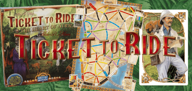 Ticket to Ride: Heart of Africa Board Game
