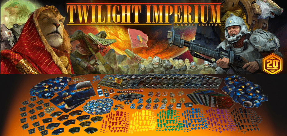 Twilight Imperium 6-Player Board Game