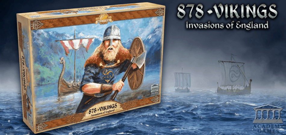 878: Vikings - Invasions of England Board Game
