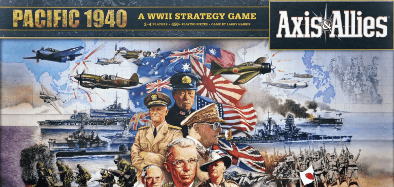 Axis & Allies: Pacific 1940 Board Game