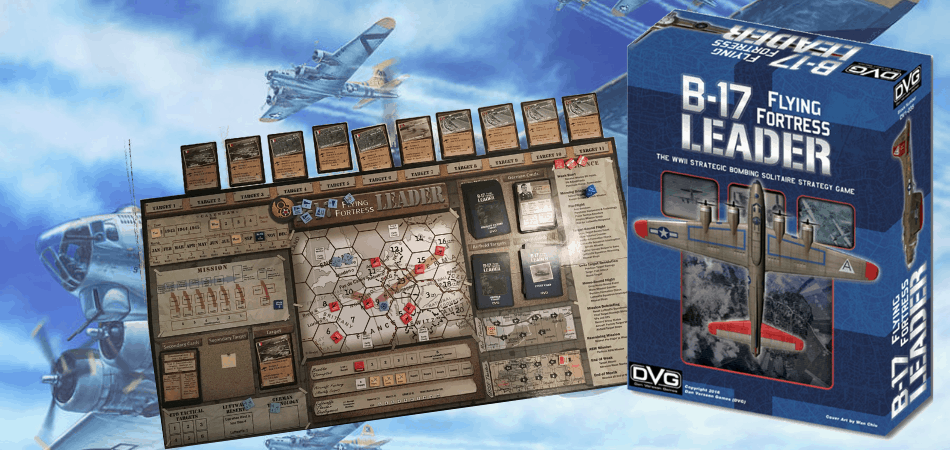 B-17 Flying Fortress Leader Board Game