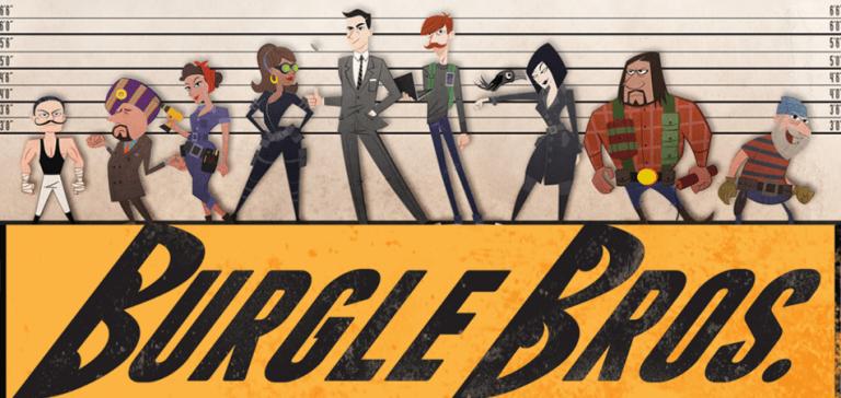 Burgle Bros. Single Player Board Game