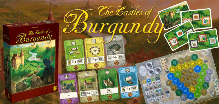 Castles of Burgundy Cheap Board Game