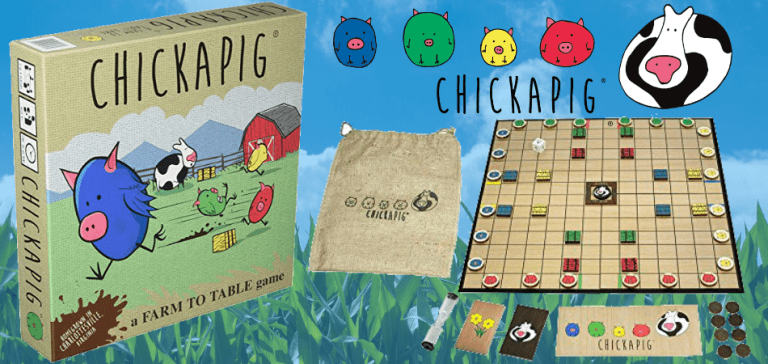 Chickapig Educational Board Game