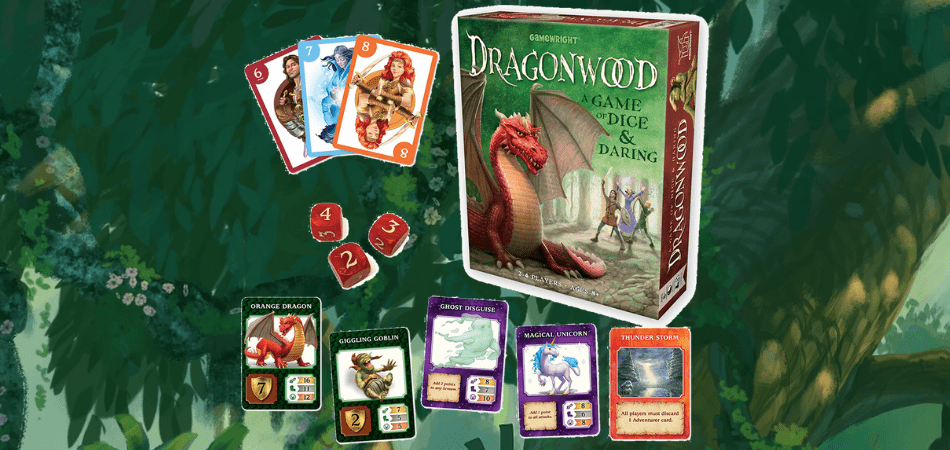 Dragonwood Family Board Game