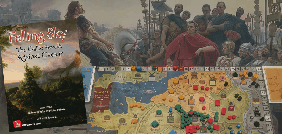Falling Sky: Gallic Revolt Against Caesar Board Game