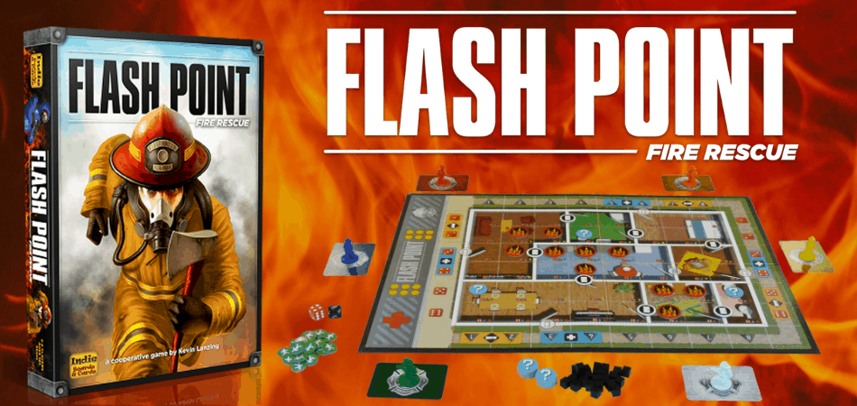 Flashpoint: Fire Rescue Cooperative Board Game