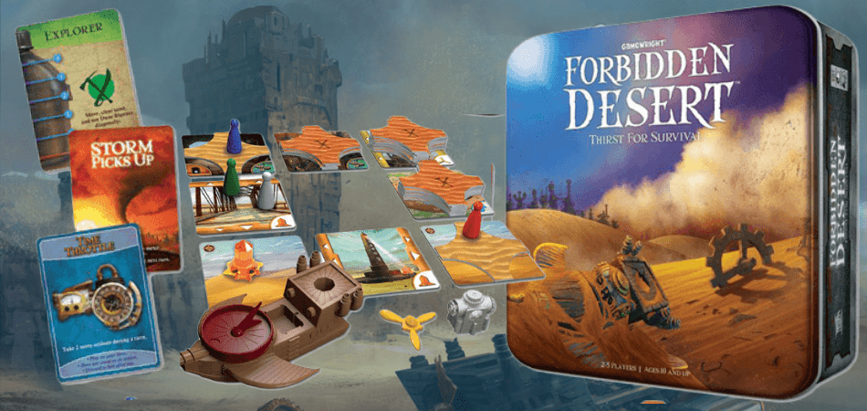 Forbidden Desert Cheap Board Game