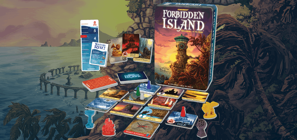 Forbidden Island Cooperative Board Game