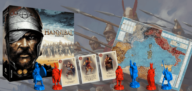 Hannibal and Hamilcar: Rome vs. Carthage Board Game