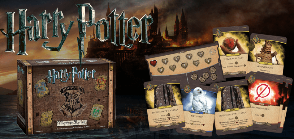 Harry Potter: Hogwarts Battle Box and Cards