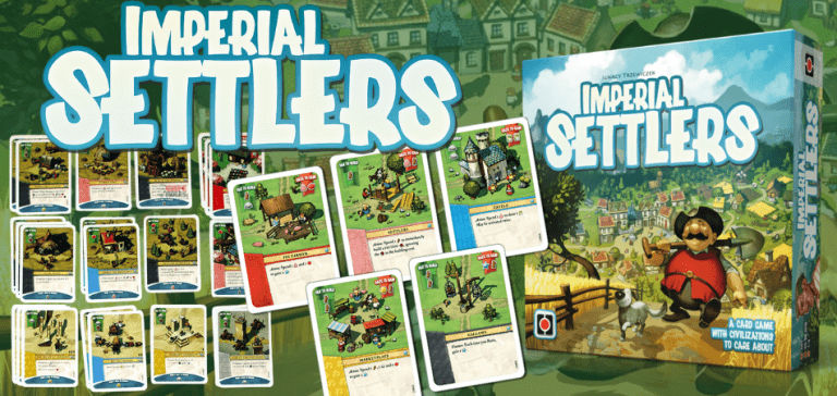 Imperial Settlers Single Player Board Game