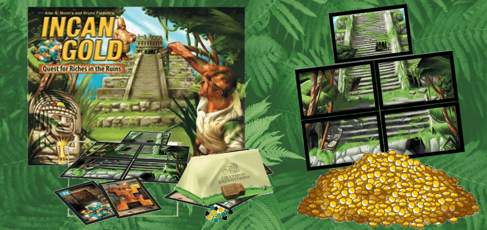 Incan Gold Educational Board Game