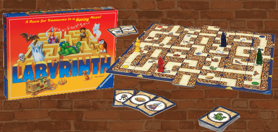 Labyrinth Family Board Game Header