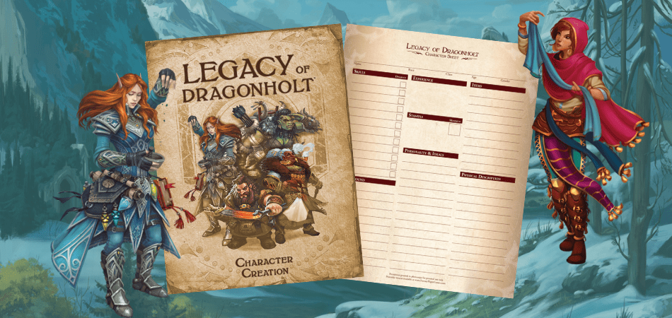 Legacy of Dragonholt Character Creation