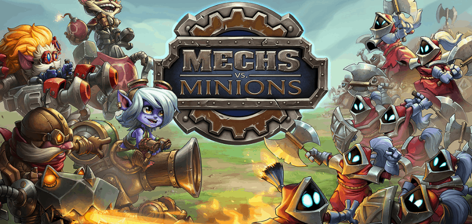 Mechs vs. Minions Cooperative Board Game
