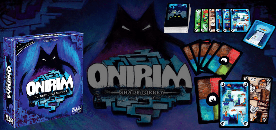 Onirim Single Player Board Game