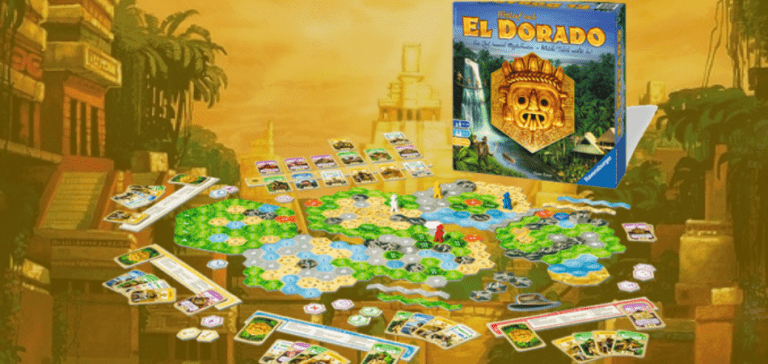 Quest for El Dorado Educational Board Game