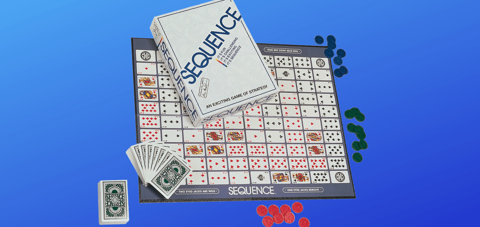 Sequence Family Board Game Header