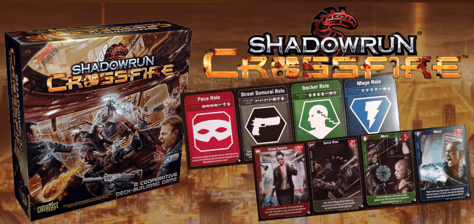 Shadowrun: Crossfire Single Player Board Game