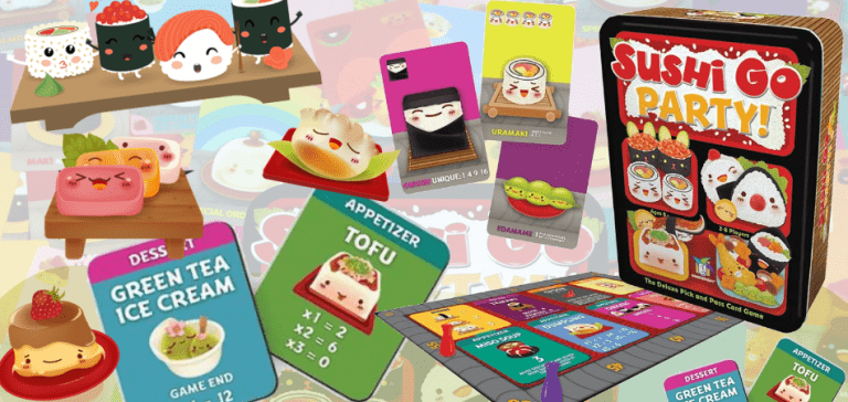 Sushi Go Party Cheap Board Game