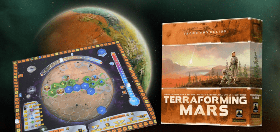 Terraforming Mars Single Player Board Game
