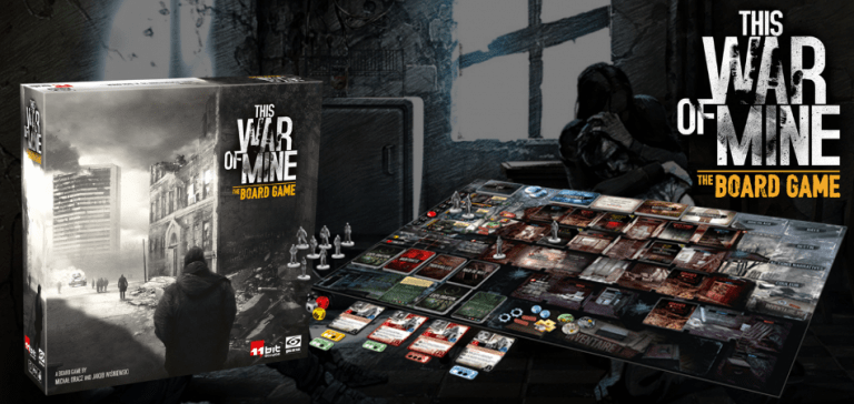 This War of Mine Single Player Board Game