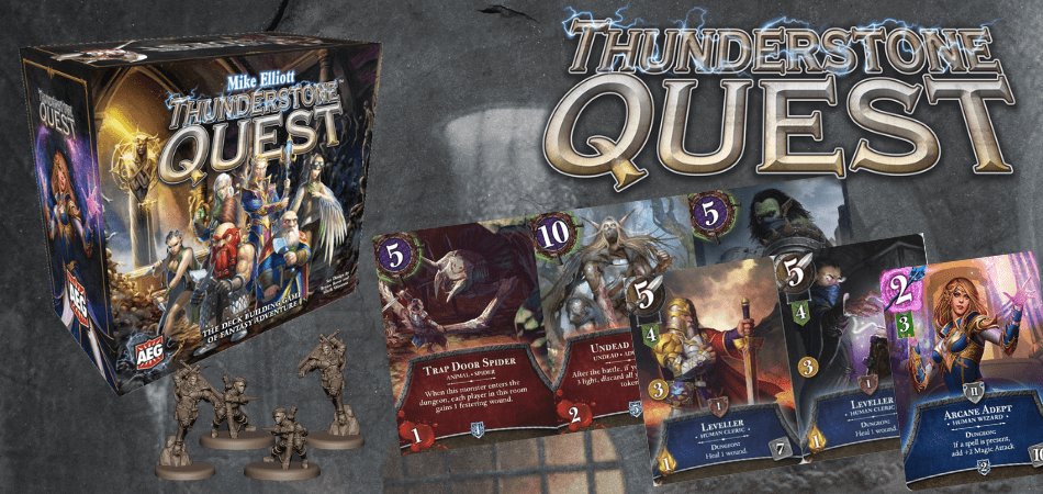 Thunderstone Quest Deck-Building Board Game
