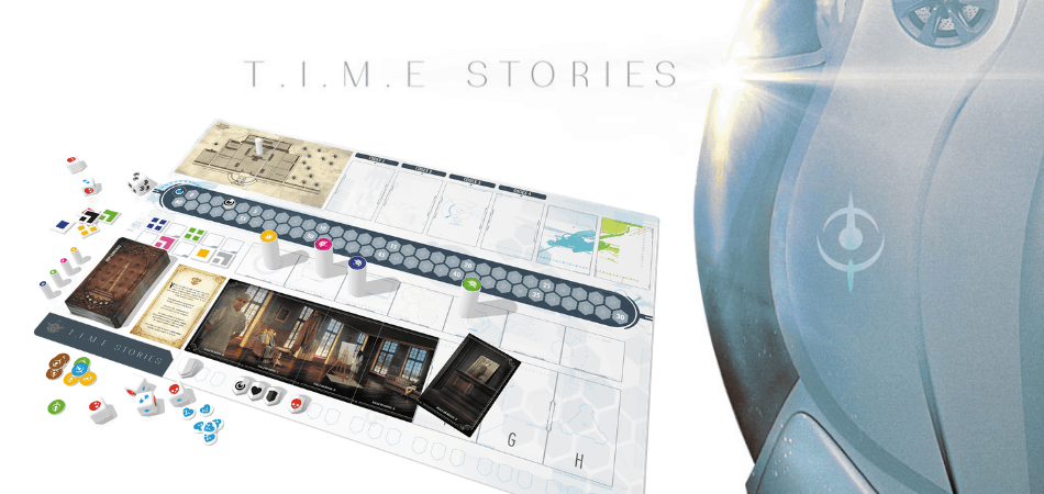 Time Stories Cooperative Board Game