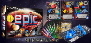 Tiny Epic Galaxies Single Player Board Game