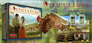 Viticulture Essential Edition Single Player Board Game