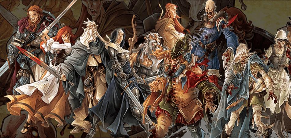 Zombicide Black Plague Characters