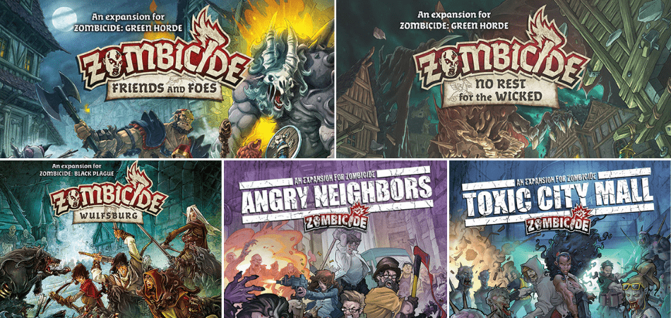 Zombicide Expansions
