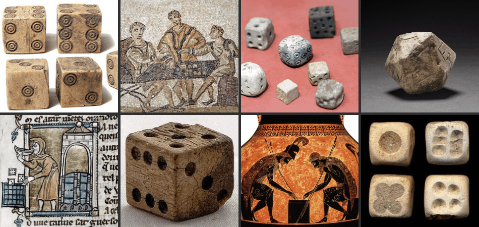 Images of Ancient Dice Games
