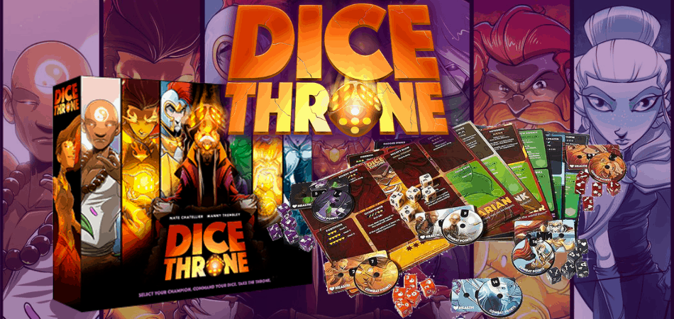 Dice Throne: Season 1 Board Game