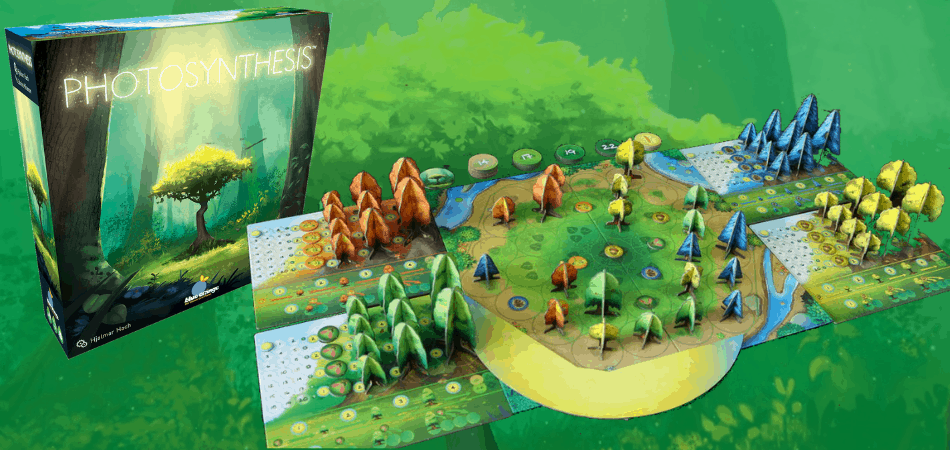 Photosynthesis Board Game Setup