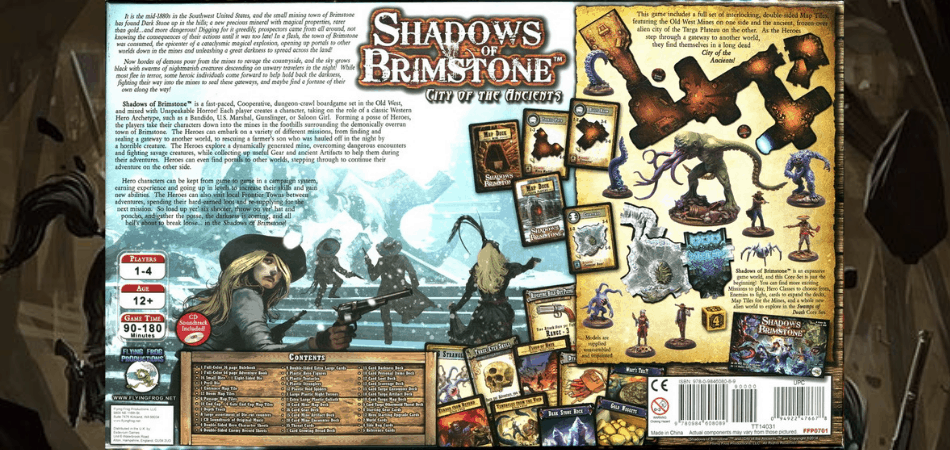 Shadows of Brimstone Contents