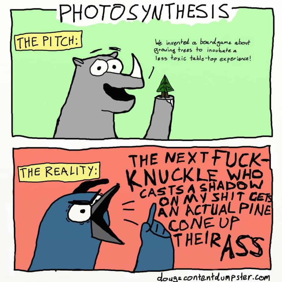 photosynthesis comic