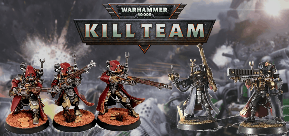 Warhammer 40k Kill Team Adeptus Mechanicus