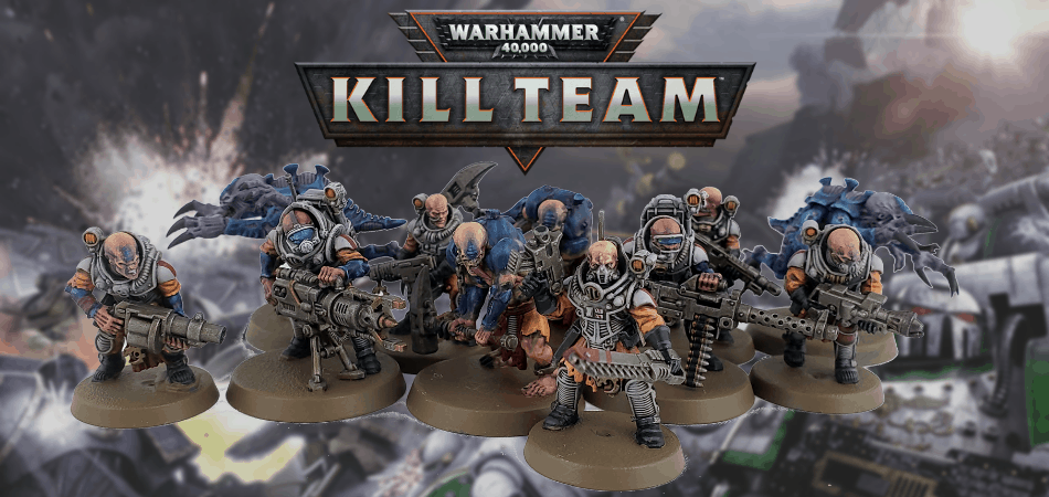 Warhammer 40k Kill Team Genestealers