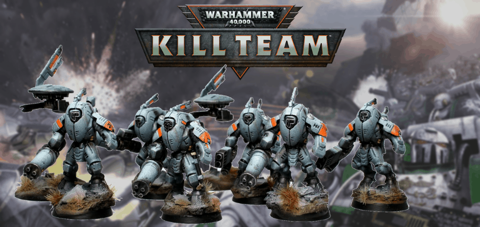 Warhammer 40k Kill Team Tau