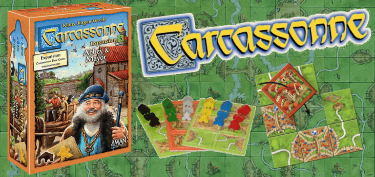 Carcassonne Expansion 3: Abbey & Mayor