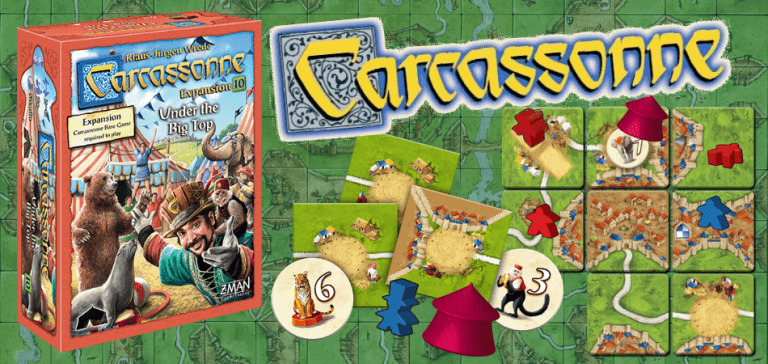 Carcassonne Expansion 10: Under the Big Top