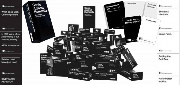Cards Against Humanity Collage