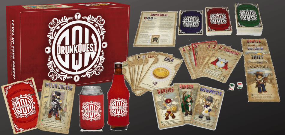 DrunkQuest Board Game