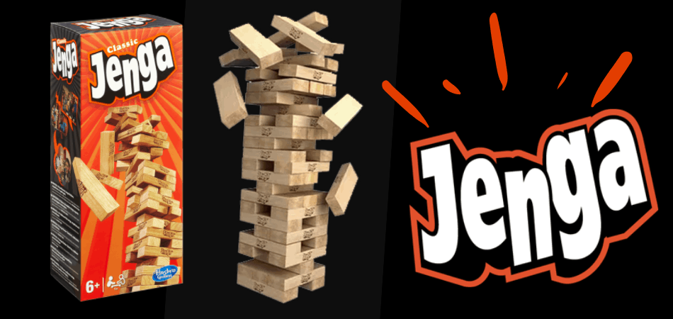 Jenga Classic Stacking Game
