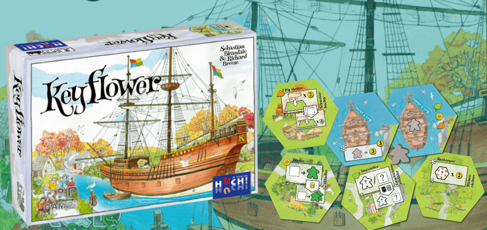 Keyflower Board Game