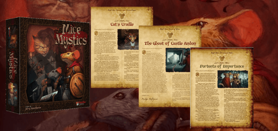Mice and Mystics Lost Chapters Expansions