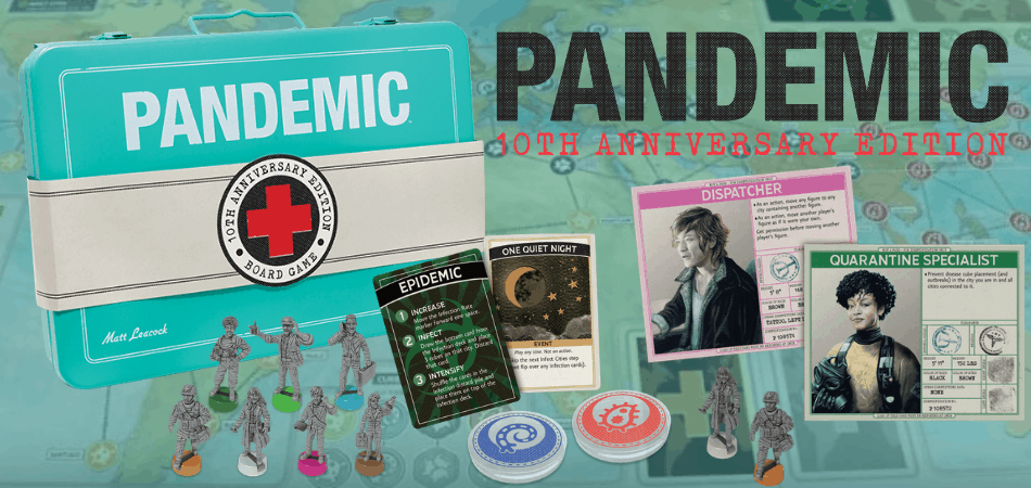 Pandemic: 10th Anniversary Edition Board Game