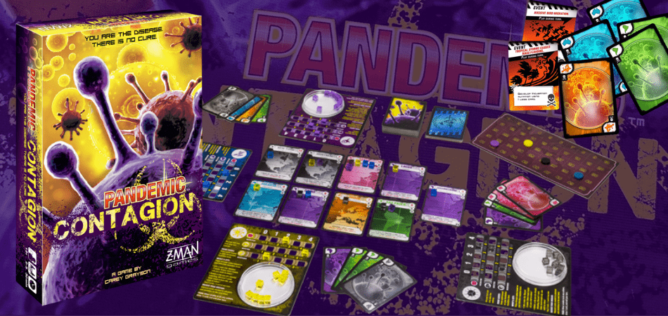 Pandemic: Contagion Board Game